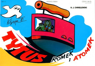Tytus, Romek i A'Tomek. Księga XI: ochrona zabytków - okładka