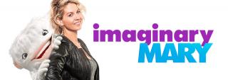 imaginary mary - plakat serialu komediowego