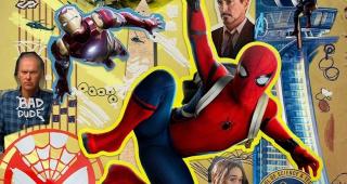 Spider-Man: Homecoming - fragment plakatu IMAX