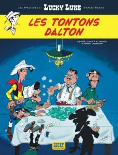 Les Tontonos Dalton - okładka
