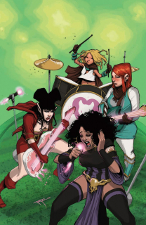 Rat Queens #02 - plansza