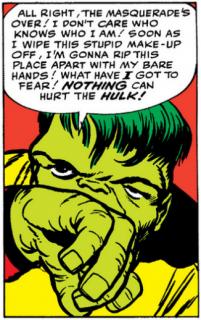Najdziwniejsze momenty komiksowych Mścicieli - Hulk pracuje w cyrku (2)