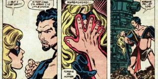 Najdziwniejsze momenty komiksowych Mścicieli - Kapitan Marvel zostaje zapłodniona przez syna