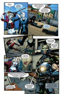 Liga Sprawiedliwości kontra Suicide Squad - plansza