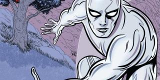Srebrny Surfer - potężny superbohater połączony z historią Galactusa; przekształca materię w energię (którą następnie się pożywia), telepata, jest praktycznie niezniszczalny
