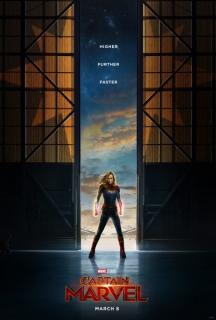 Captain Marvel - plakat