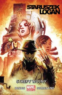 Staruszek Logan – Strefy wojny, tom 1 - okładka