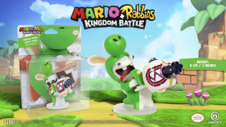 Mario + Rabbids: Kingdom Battle - figurka Rabbid Yoshi - cena 21,22 zł