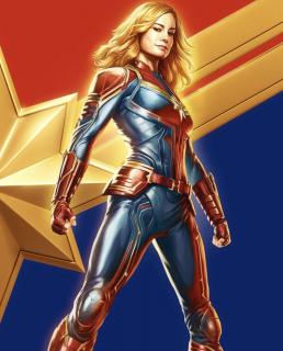 Kapitan Marvel - plakat
