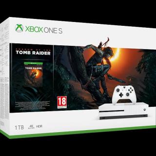 Konsola Xbox One S z dyskiem twardym 1TB i grą Shadow of the Tomb Raider – 999 zł