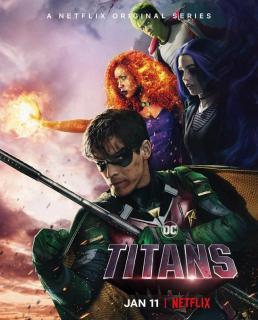 Titans - plakat