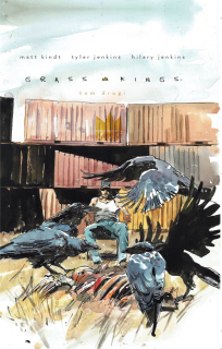 Grass Kings, tom 2 – okładka