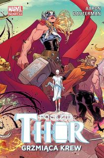 Potężna Thor. Grzmiąca krew, tom 1 – okładka
