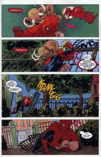 W trakcie powrotu do domu Spider-Man zostaje zaatakowany przed wejściem; wierzy wtedy, że znajduje się w siedzibie Avengers