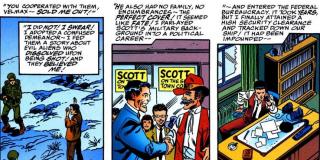 Z komiksów dowiadujemy się, że to Skrulle odpowiadają za incydent w Roswell czy aferę Watergate.