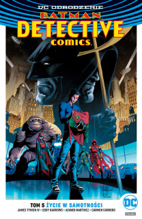 Batman – Detective Comics – Życie w samotności, tom 5 - okładka