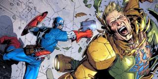 """Już """"Czas Ultrona"""" subtelnie sugerował, że Kapitan Ameryka jest w stanie podnieść Mjolnir. W komiksach do takiego obrotu spraw dochodziło wielokrotnie."""