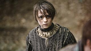 Maisie Williams w 2. sezonie Gry o tron