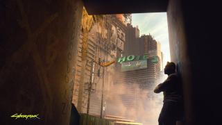 Miejscem akcji tej produkcji jest fikcyjne Night City. Świat gry ma być otwarty, a wirtualne miasto podzielone na sześć zróżnicowanych dzielnic.