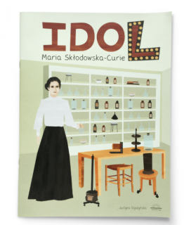 dol. Maria Skłodowska-Curie - okładka