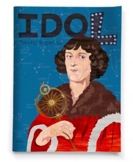 Idol. Mikołaj Kopernik - okładka