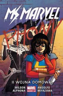 Ms Marvel – II wojna domowa, tom 6 - okładka