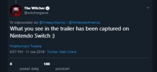 Wiedźmin 3: Dziki Gon na Nintendo Switch - informacje o grze