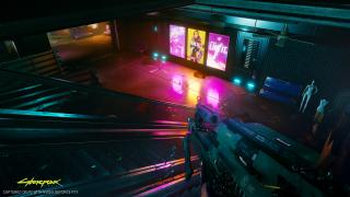 Cyberpunk 2077 z ray tracingiem