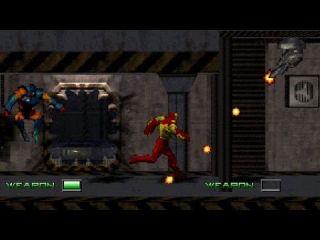 Iron Man and X-O Manowar in Heavy Metal - PlayStation, Sega Saturn, Game Boy, Game Gear, DOS (1996)