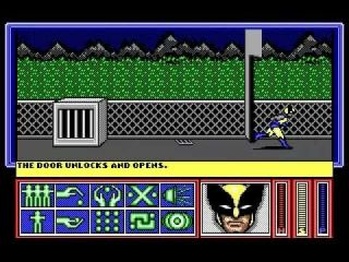 X-Men: Madness in Murderworld - DOS, Commodore 64, Amiga (1989)