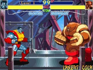 X-Men: Children of the Atom - automaty, Sega Saturn, DOS, PlayStation (1994)