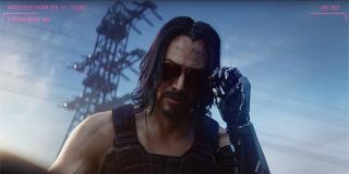 Keanu Reeves w Cyberpunk 2077