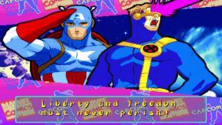 Marvel Super Heroes vs. Street Fighter - automaty, Sega Saturn, PlayStation (1997)