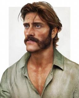 Ojciec Tarzana - grafika