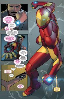Niezwyciężony Iron Man - plansza
