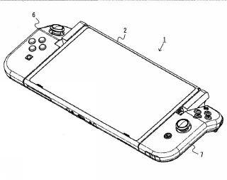 Nintendo Switch - patent