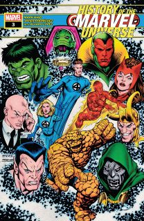 History of the Marvel Universe #3 - plansze
