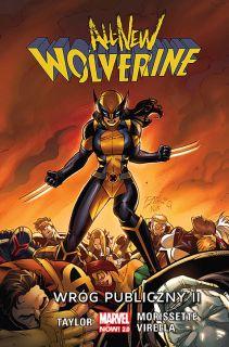 All-New Wolverine. Wróg publiczny II, tom 3 - okładka