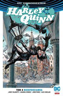 Harley Quinn – Niespodzianka – polska okładka Catwoman Kraków, tom 4 - okładka