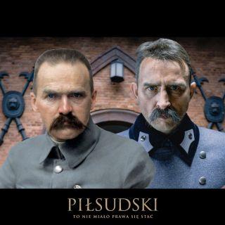 Józef Piłsudski i Borys Szyc
