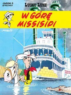 Lucky Luke. W górę Missisipi, tom 16 - okładka
