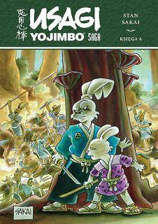 Usagi Yojimbo Saga, księga 4 - okładka