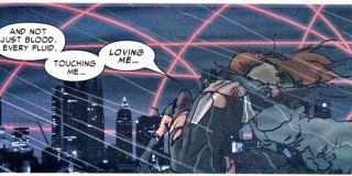 Mary Jane umiera na raka, którego nabawiła się po kontakcie z radioaktywną spermą Petera Parkera (Spider-Man: Władza)