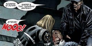 Zapowiadana w latach 2007-2008 jako ostateczna śmierć Kapitana Ameryki potrwała tylko rok – heros odrodził się w serii Captain America: Reborn