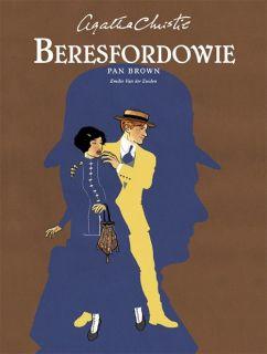 Agatha Christie. Beresfordowie - Pan Brown - okładka