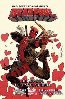 Deadpool. Deadpool leci Szekspirem, tom 7 - okładka