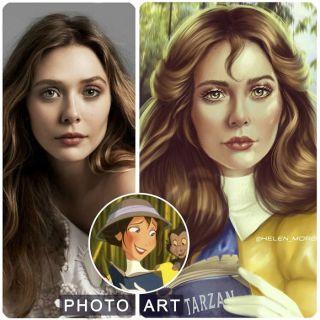 Elizabeth Olsen jako Jane z Tarzana