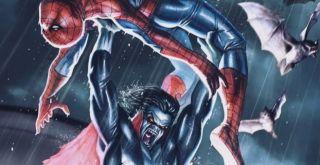 """Spider-Man i Blade byli w komiksach zarówno przeciwnikami, jak i sojusznikami Morbiusa – przymierze z Pajączkiem zawarł on w serii """"Maximum Carnage"""", z kolei opętany demonami Blade w jednej z historii odebrał mu życie. Na Morbiusa nieustannie poluje agent CIA, Simon Stroud, zaś Jack Russell aka Werewolf by Night, znany wilkołak ze świata Marvela, najczęściej przedstawiany jest jako jego przyjaciel."""