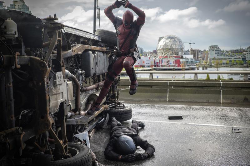 """Nowe zdjęcia z filmu """"Deadpool"""