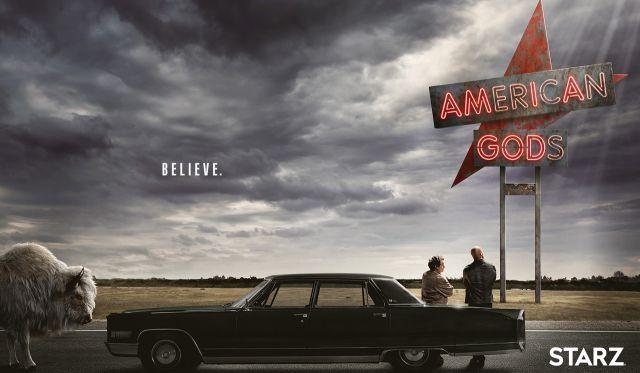 American Gods. Jest data premiery 2 sezonu i plakat